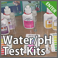 Water and pH Test Kits